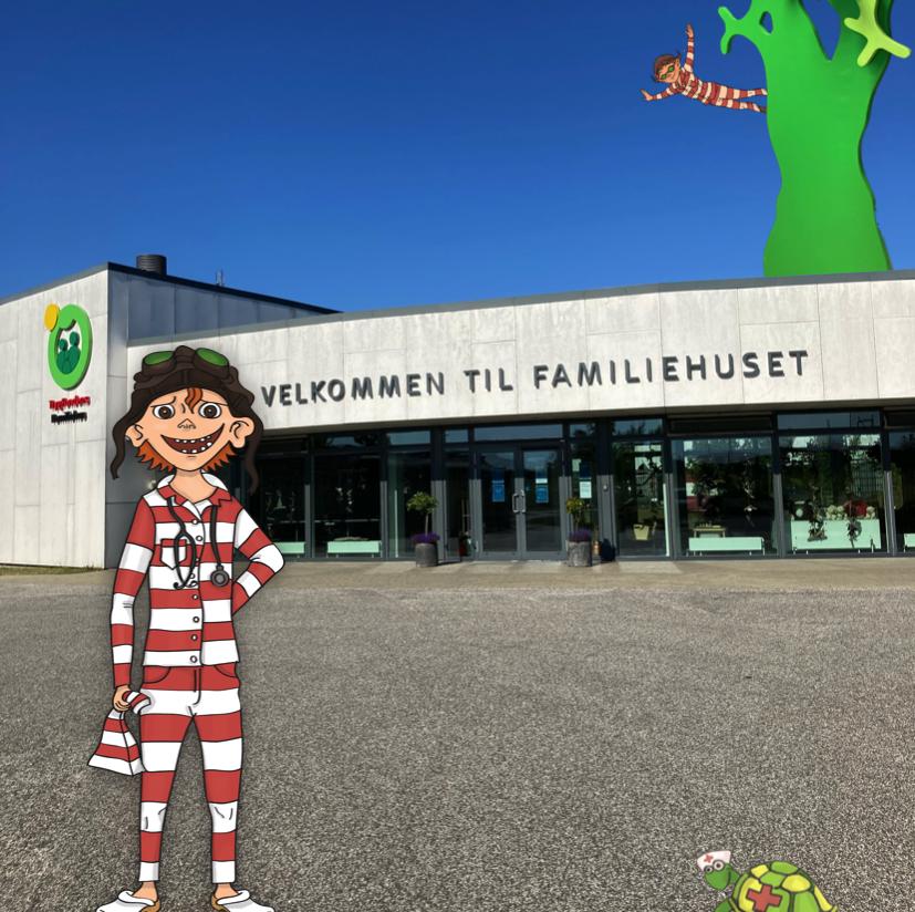 Vilters godnathistorier på Aarhus Universitetshospital
