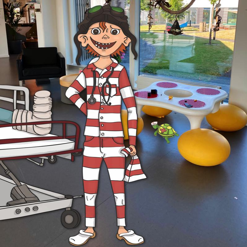Vilters godnathistorierfor syge børn på hospitalet