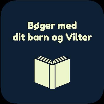 Personlige børnebøger med dit barn og Vilter