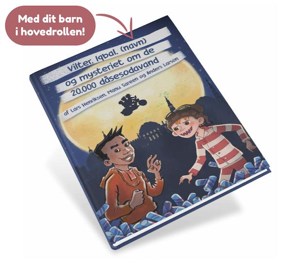 Iqbal og Vilter personlig børnebog