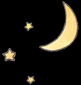 Måne og stjerner over Vilter