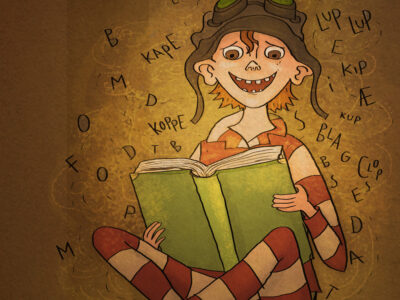 Læs selv historie: En bog lærer Vilter at læse - lix 12