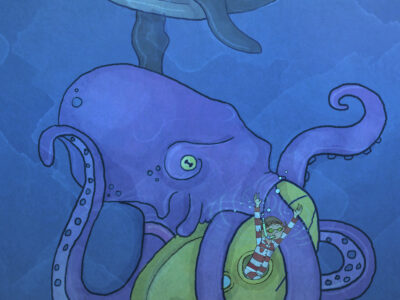 Læs selv lix 15: Med Vilters ubåd på jagt efter bamse - del 2