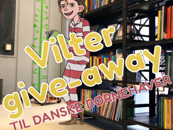 Vilter give-away til danske børnehaver