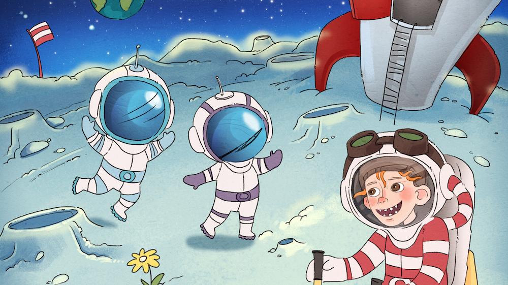 Vilter på månen