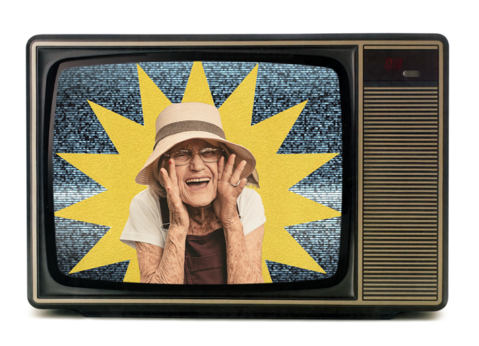 Bedsteforældre på TV i corona-tider
