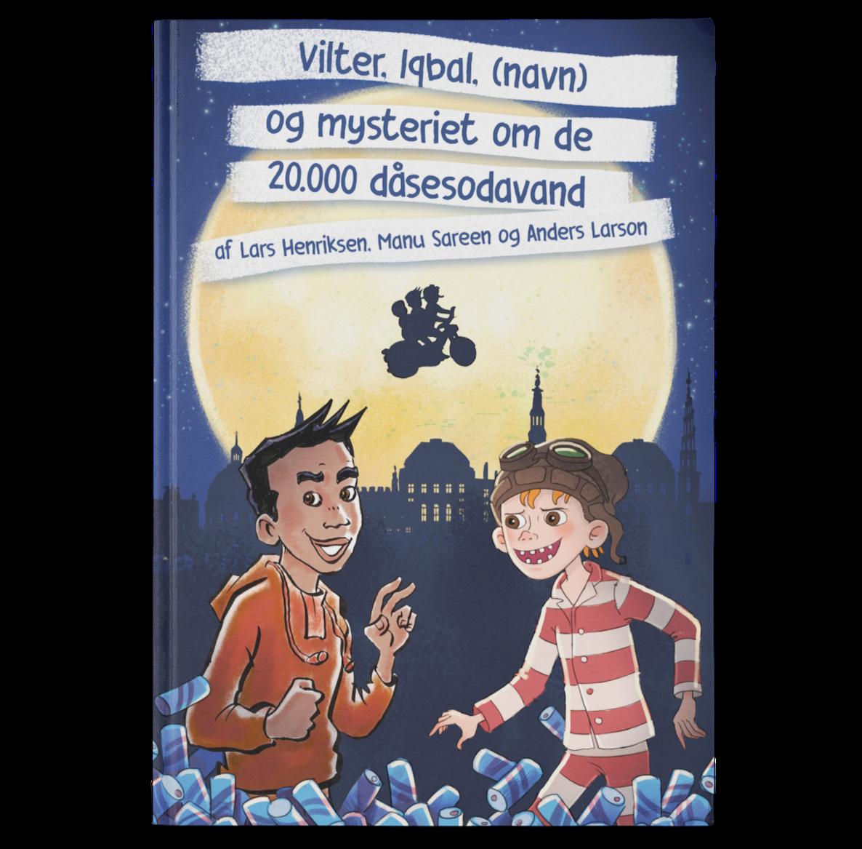 Personlig børnebog forside