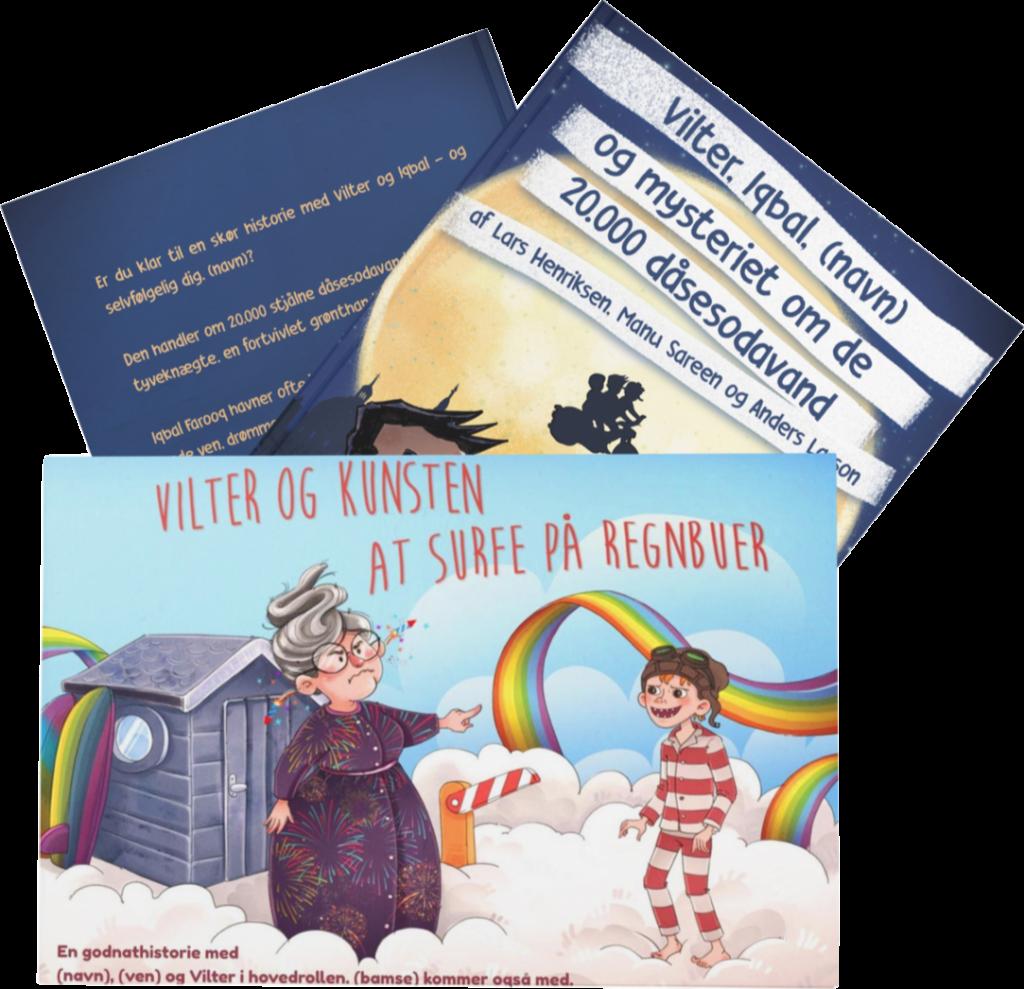 Personlige børnebøger med Vilter Ørngot