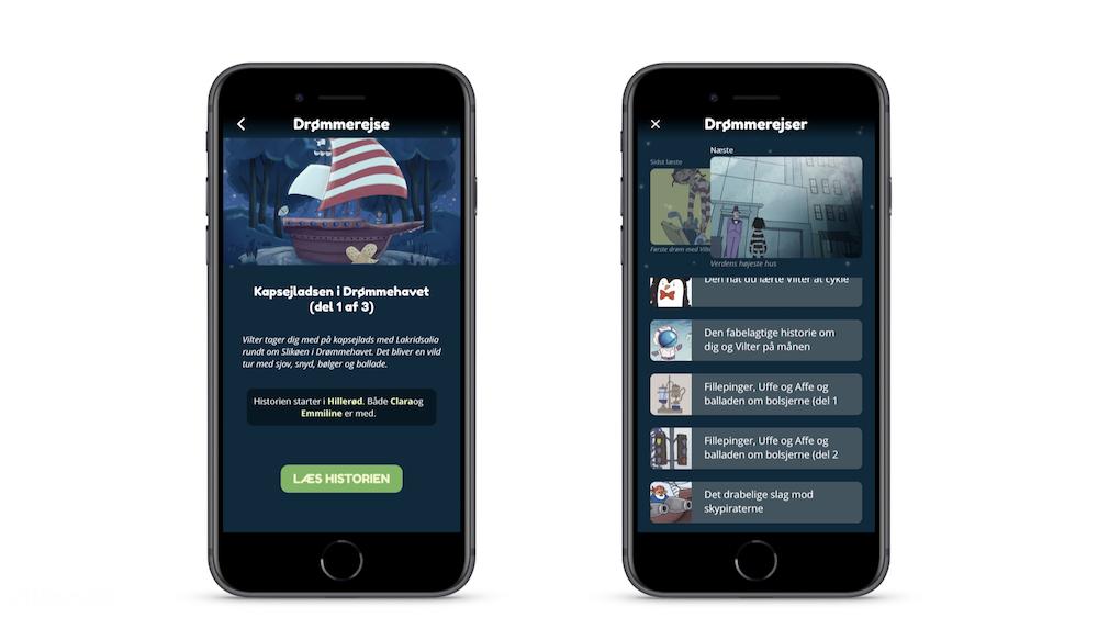 Vilters app screenshots