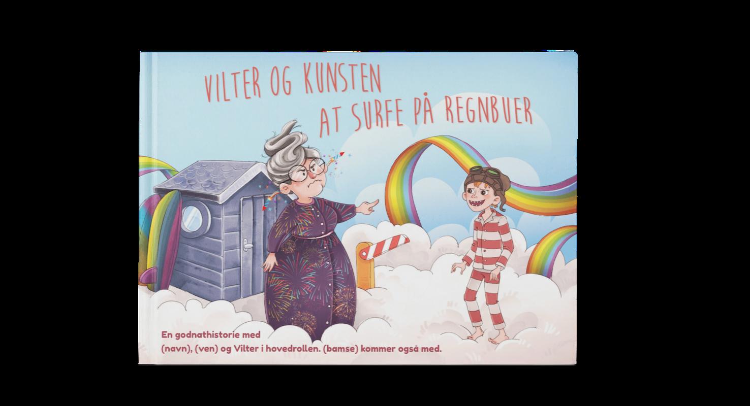 Personlig børnebog cover