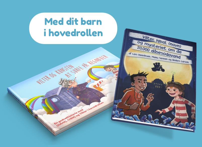 Personlige børnebøger med Vilter