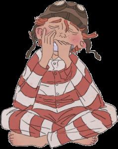 Vilter spiller godnatmelodi på sin mundharmonika