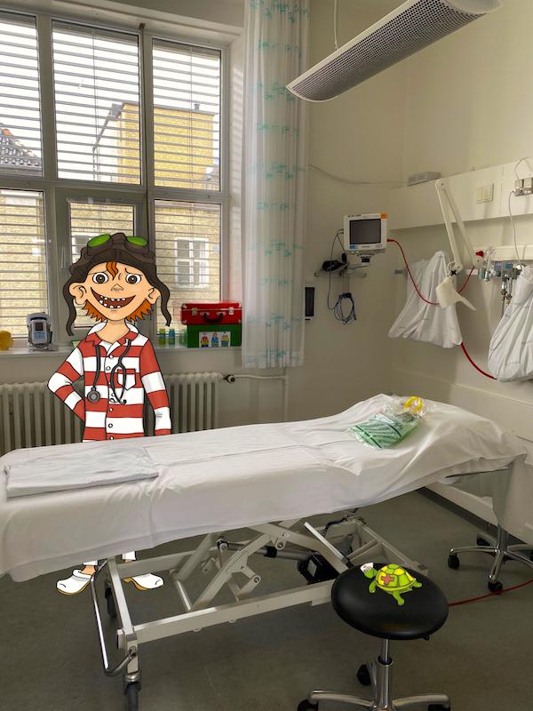 Aalborg Hospital med Vilter 3