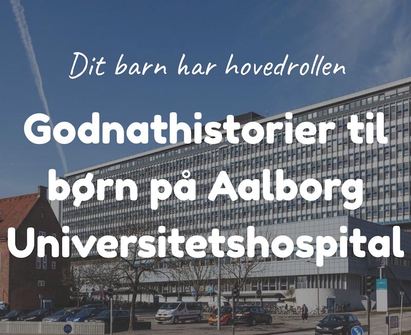 Godnathistorier til børn på Aalborg Universitetshospital