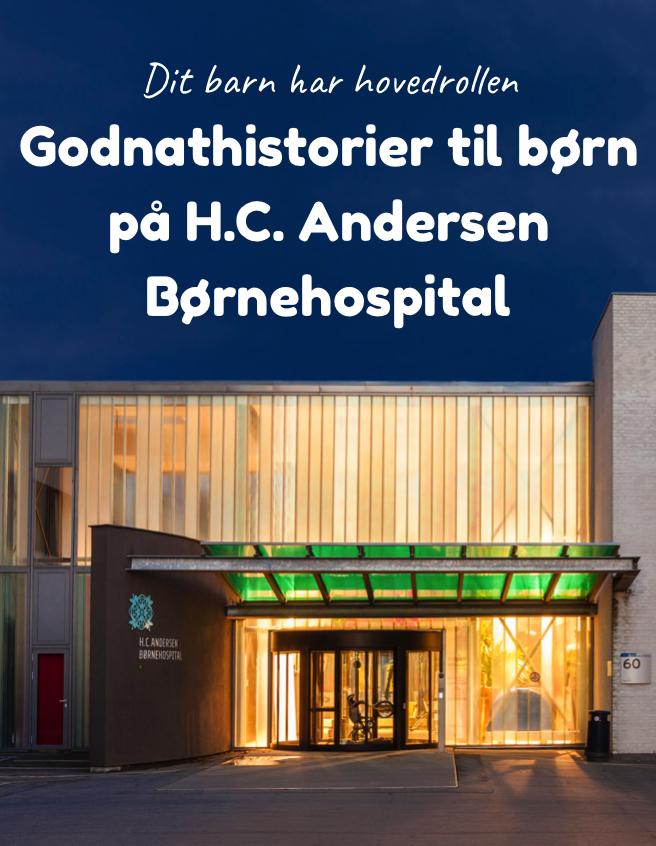 Godnathistorier til børn på H.C. Andersen Børnehospital