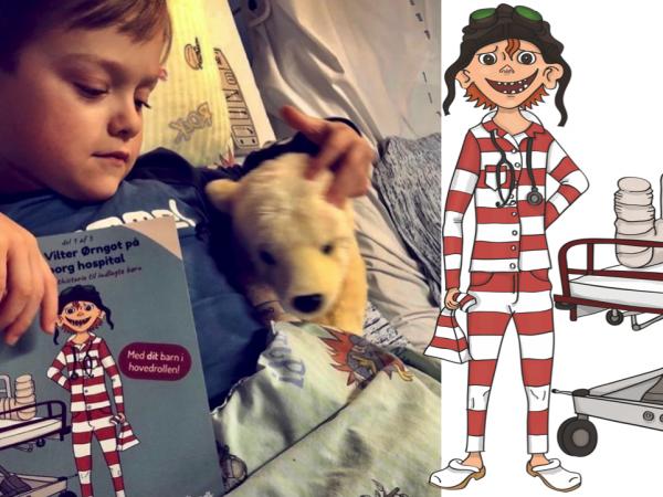Vilters og Oscar med gratis godnathistorier til hospitaler